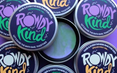 Taller Design Agency Rowdy Kind packaging tin soap bar grass stains