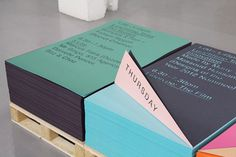 MadeThought × GF Smith — SI Special | September Industry #design #graphic