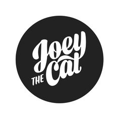 Joey the Cat by James T Edmondson #lettering #icon #t #james #typeface #custom #logo #edmondson #typography