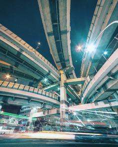 Cyberpunk and Futuristic Street Photography by Yuto Yamada