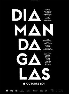 Affiche Diamanda-08 #type #poster #typography