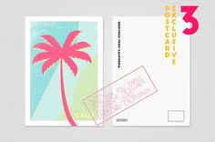 Exclusive postcards of California on Behance #card #postcard #calif #california