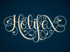 Dribbble - Anchors Aweigh by Teresa Wozniak #typography