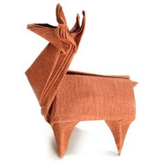 How to make an origami reindeer (http://www.origami-make.org/howto-origami-christmas.php)