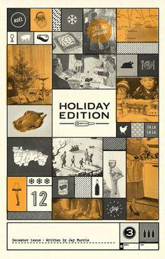 3 Bottles — December issue #cover #print #wine