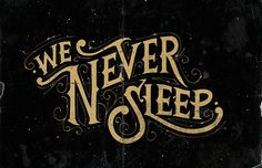Hand Lettering byTobias Saul #tobias #lettering #saul #typography