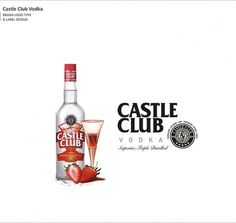 Not Just Logos (Part II) on the Behance Network #packaging #castle #vodka #club