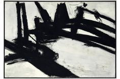 Countries Join Venice Biennale Franz Kline Work for Sale NYTimes.com #black and white #painting #abstract expressionism #franz kline