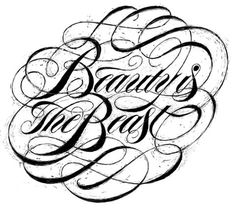 FFFFOUND! | TYPOGRAPHY on Typography Served #handdrawn #typo #swashes #typography