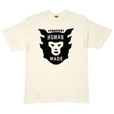 FFFFOUND! | Human Made Logo Tee (White) #human #nigo #made