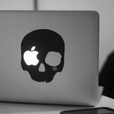 The Dark Skull NW14 Laptop Decal #tech #flow #gadget #gift #ideas #cool