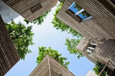 House for Trees by Vo Trong Nghia Architects #ideas #architecture