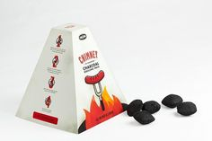 Chimney: Charcoal Grilling Pack on the Behance Network #branding #packaging #grill #design #pack