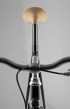 Cykelsadel i kork | Tjock / Garaget