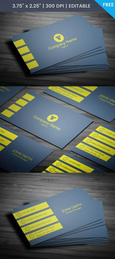 Free Vice President Business Card Template