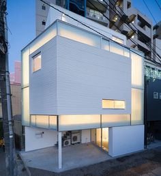 Dezeen » Blog Archive » House in Nakameguro by Yoritaka Hayashi Architects #japanese #architechture