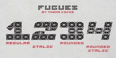 Fugues (fonts) typefaces designed by Thoma Kikis. Teknike.com - #fugues #typeface #font #kikis #teknike