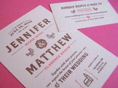 Dribbble - Invites by Matt Braun #invitation #typography