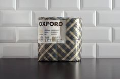 Oxford : The Bakery Design Studio #packaging #toilet #paper #roll