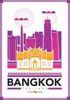 RAWZ #pink #flyer #yellow #bangkok #poster #thailand