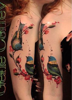 50+ Examples of Colorful Tattoos #colorful #tattoos