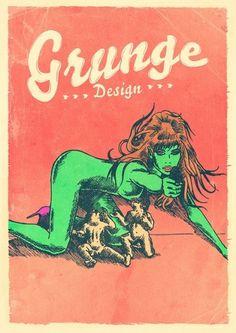 Cartaz Grunge Design | Flickr - Photo Sharing!