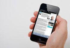 AECOM - e-magazine : Recent work : OPX #inspiration #interactive #ipod #interface #typography