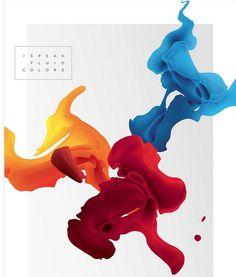 I Speak Fluid Colors 8 #illustration #organic #colorful #fluid