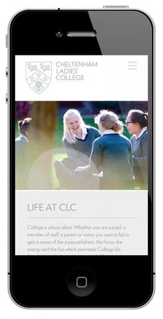 why not associates - cheltenham ladies college #brand #logo #college #school #identity #minimal