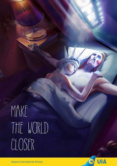 cool, shock and risky ad Ukraine International Airlines