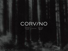 Corvino - Mindsparkle Mag The project of brand identity for Corvino was created by Design Ranch. The name Corvino, which means raven, provided the inspiration behind the color palette, textures and materials for this new restaurant. #logo #packaging #identity #branding #design #color #photography #graphic #design #gallery #blog #project #mindsparkle #mag #beautiful #portfolio #designer