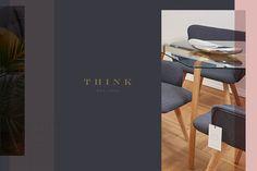 think house of furniture interior design barcelona spain branding corporate identity inspiration designblog www.mindsparklemag.com