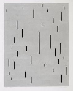 Anni Albers With Verticals, 1946/1983 #mood #bw #poster