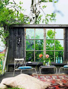patio elle decor espana