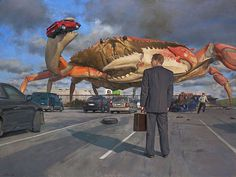 John Brosio – Custom Prints #parking #car #lot #crab