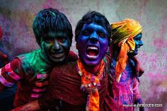 Holi, the Festival of Colours | 50ft #festival #india #color #holi #paint #photography #face