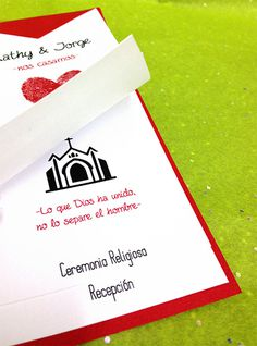 Wedding Invitation /Invitacixc3xb3n de Boda #groom #invitation #impreso #print #novia #bride #invitacin #novio #wedding
