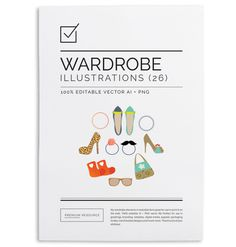 My Wardrobe Vector Illustration Set $6.00
