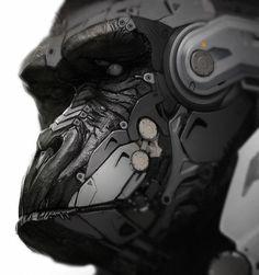 Gorilla by fightpunch on deviantART #cyborg #gorilla