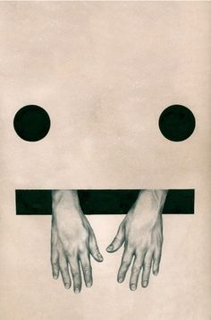 Junk Funk #white #graphic #black #fingers #dots #illustration #and #hand