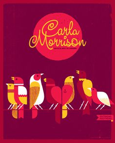 burds #gigposter #screenprint