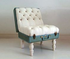 Suitcase chair | Fab.com #chair #suitcase