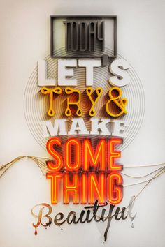 Typography Appreciation - Something Beautiful on Behance. #typography