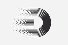 D #logo