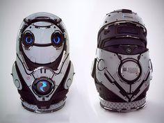 Cyber matreshka #robot