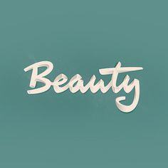 Beauty, by Laszlo Kovacs #type #typeography