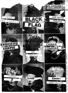 FFFFOUND! | stax&cane #flag #hardcore #black