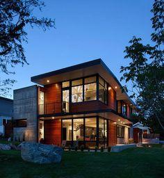 Modern Boulder House Designed for Two Professional Athletes 10