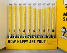 The Happy Show by Stefan Sagmeister #installation #sagmeister