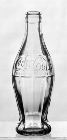 Jay Mug — The first Coca-Cola bottle - A prototype developed... #packaging #design #food